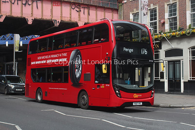 EH166, YX67VFL, London General (T/A London Central)