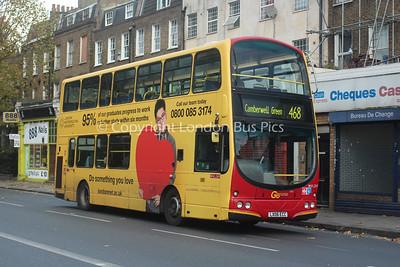 WVL269, LX06ECC, London General (T/A London Central)