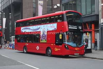 WHV179, LF67EXX, London General (T/A London Central)