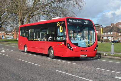WS108, SK67FMF, London General (T/A London Central)