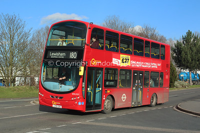 WVL321, LX59OBZ, London General (T/A London Central)