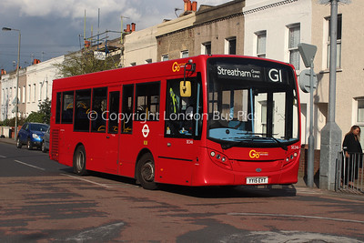 SE246, YY15EYT, London General
