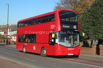 VH45229, BF67GKP, London United