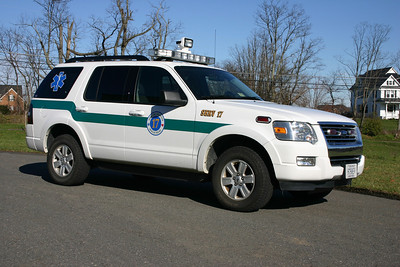 SERV 617 (Special Emergency Response Vehicle) is a 2008 Ford.