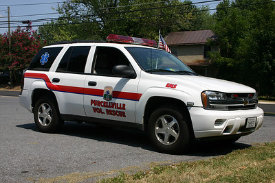 One of two EMS response vehicle's at Purcellville Rescue.  EMS 614 is a 2005 Chevrolet Tahoe.