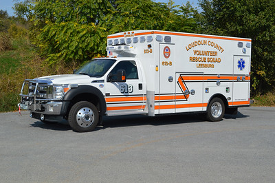 613B, a 2016 Ford F550/Braun, was delivered in October of 2016 to the Loudoun County VRS in Leesburg.