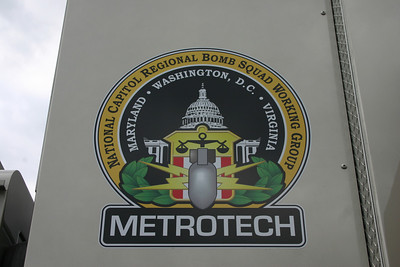 The Loudoun County Fire Marshal's Office - Bomb Squad insignia