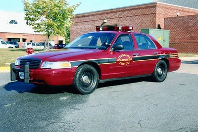 Former Car 601, a 2000 Ford Crown Victoria/2007 Monroe Tech High School.  ex - Loudoun County Sheriff's Office.