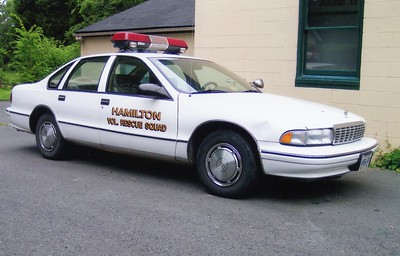 Former Car 17 from Hamilton Rescue, a 1995 Chevy Caprice.  ex - Loudoun County Sheriff's Office.