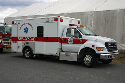 Ambulance 699 photographed in the Summer of 2014
