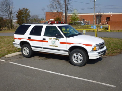 Training Academy Chevy Blazer utility.