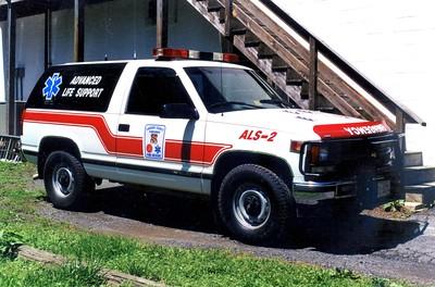 Former ALS 2, a 1995 Chevy 1500/Odyssey.