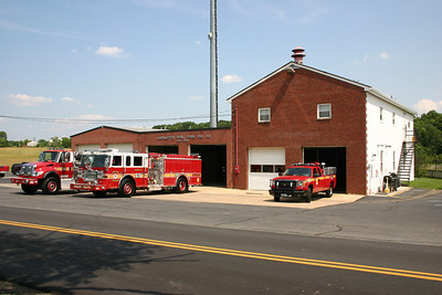 Fire Station 10 in Lucketts