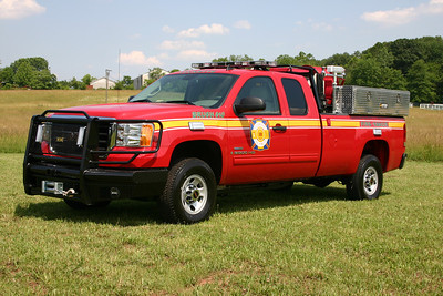 Brush 610 as photographed just after being placed into service.  2007 GMC 3500/2008 CET/West Potomac.  450/200.