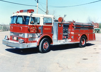Former Wagon 10 was a 1969 Young-Duplex R-300, 1000/500, sn- 70331.  ex - Vienna, Virginia (Fairfax County).