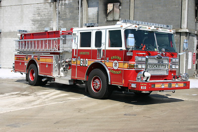 The officer side of Engine 610.