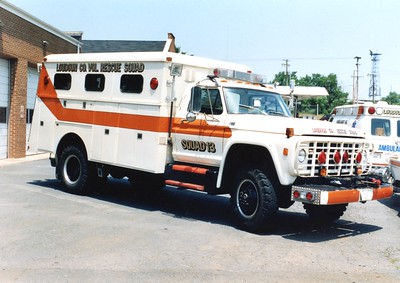 Former Squad 13, a 1977 Ford F/Reading.