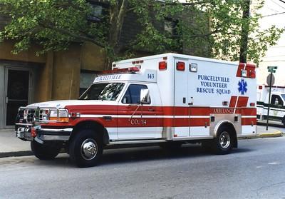 Former Ambulance 14-3, a 1996 Ford F-350/Horton.