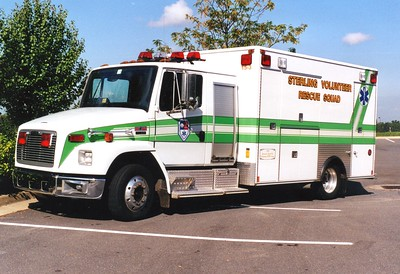 Former '15-3', a 1999 Freightliner 60/Medic Master.  Used as an ambulance and a rehab unit.
