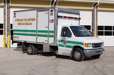 """The """"officer"""" side of Medical Support Unit 615.  The two photographs of MSU 615 were taken in November of 2013 about a week after the new Kincora Safety Center was opened."""
