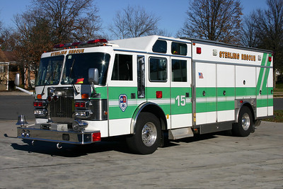 Old Squad 15 was a 1990 Duplex Vanguard/Saulsbury.  In 2001, it was returned to Saulsbury for a rehab.  Squad 15 was sold in 2011 to Pooler, Georgia.