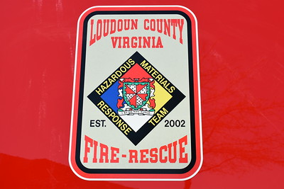Emblem found on HAZMAT 619 from Loudoun County.