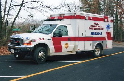 Former Ambulance 19, a 2005 Ford F-450 4x4/Horton.