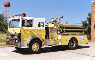 Former Engine 2, a 1980 Mack MB, 1000/750.