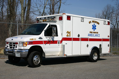 Ex 21-1 is a 2001 Ford E450 built by Wheeled Coach.  Replaced by the newer Dodge.