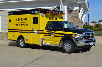 "Photographed on the front ramp of Fire Station 22 in Lansdowne is ""622B"", a 2015 Dodge 4500 4x4/2016 Osage."