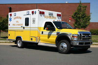 Old 23-2 is a 2008 Ford F450 4x4/Excellance now assigned to Fire Station 22 in Lansdowne.