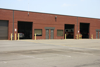 """Old Fire Station 23 in Ashburn-Moorefield, also known as the """"Warehouse"""".  Station 23 moved to a new facility in July of 2011 and the warehouse is now used to house apparatus from the Fire Marshall's office as well as other miscellaneous trucks."""