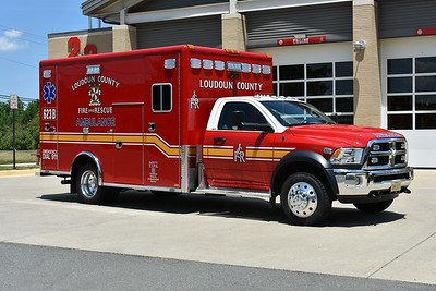 Loudoun County, Virginia took delivery of three 2018 Dodge 4500 4x4/Horton 603F and assigned them to Medic 623, 623B, and an eventual assignment to Station 27.  Medic 623B has Horton serial number 18487.