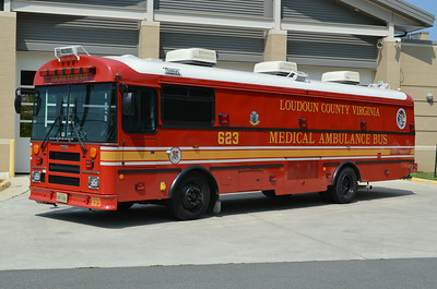 MAB 623 taken in front of Fire Station 23