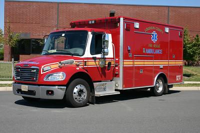 The former ambulances assigned to Station 23 were similar 2005 Freightliner M2/2006 Medic Master's.
