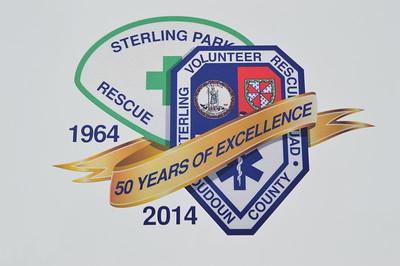 Sterling Volunteer Rescue Squad 50 year emblem