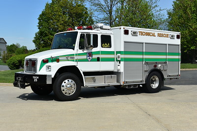 Sterling VRS Technical Rescue 625 is this 2004 Freightliner 70/American LaFrance (Medic Master).