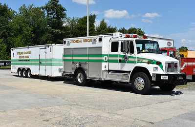 Sterling's Tech 25 with the Technical Rescue Unit trailer.