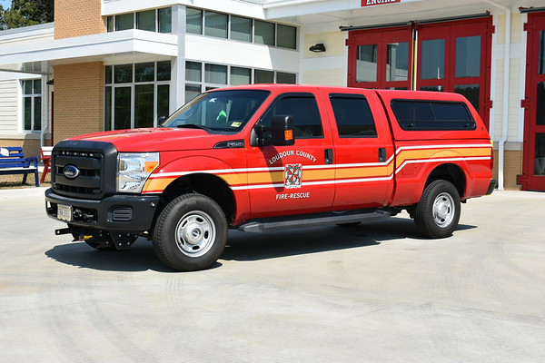 Utility 627 - Kirkpatrick Farms - 2014 Ford F250 that was previously Utility 619 in South Riding.