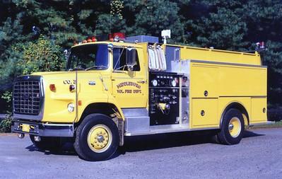 Former Tanker 3, a 1986 Ford L8000/Pierce, 400/1500, sn- E3301.