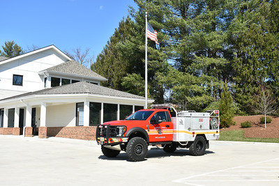 Loudoun County, Virginia Brush 603 assigned to Middleburg.  It is a 2017 Ford F550 4x4/Skeeter and equipped with a 240/250/10A.  Serial number 14310.