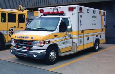Former Ambulance 3-2, a 1995 Ford E-350/Ashley.