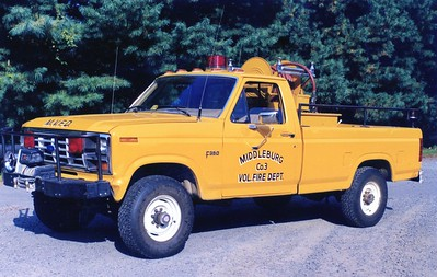 Former Brush 3, a 1985 Ford F-350/Clear Brook Welding, 225/150.