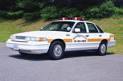 Former Car 603, a 1998 Ford Crown Victoria.  ex - Loudoun County Sheriff's Office.