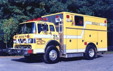 Former Squad 3, a 1990 Ford C/Pierce, sn- E5706.