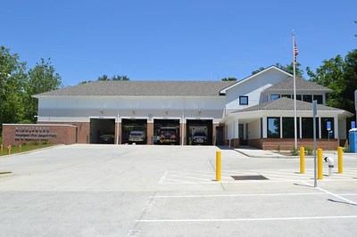 Fire Station 3 in Middleburg had an extensive rebuild completed in May of 2013.  This photograph was taken in June of 2014.