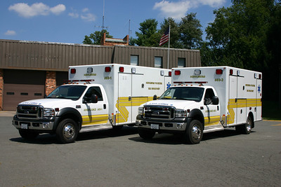 Two identical 2006 Ford F450/2007 Excellance ambulance/medic units run as 603-1 and 603-2.  One of the ambulances was sold in May of 2015 to New Baltimore, VA when the volunteer program in Middleburg dissolved.
