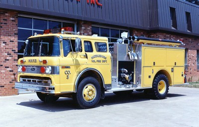 Former Wagon 3, a 1980 Ford C/Pierce, 1000/750.  Sold to Greenwood, Alabama, in 1998.