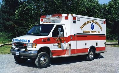 Former Rescue 4, a 1994 Ford E-350/Marque.