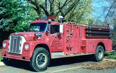 Former Tanker 4, a 1969 International Loadstar 1800/American, 350/1500.